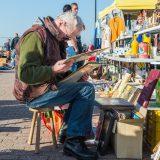 Rommelmarkt,lezen